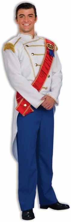 Charming Prince Adult Costume from BuyCostumes.com