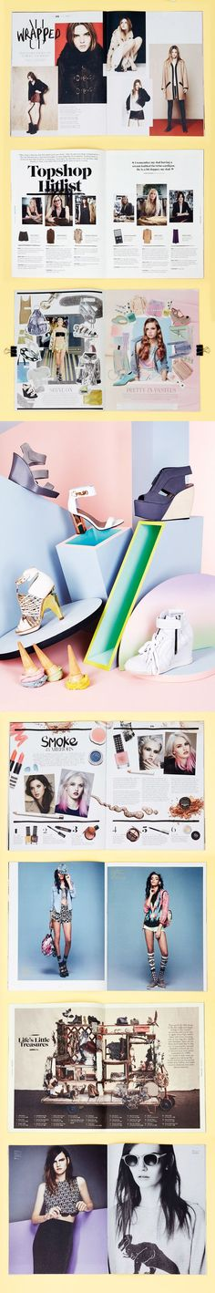 Promotion -Topshop Magazine will advertise the cheaper side of the collection to aim at a younger target audience.: