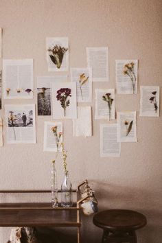 10 Simple Things to Decorate Room with These DIY Wall Decor Ideas - Wand Dekoration Diy Room Decor, Bedroom Decor, Home Decor, Flower Room Decor, Bedroom Themes, Bedroom Ideas, Aesthetic Room Decor, Aesthetic Indie, Beige Aesthetic