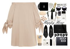 """happy hour"" by cj-churchill ❤ liked on Polyvore featuring TIBI, Sisley, Laura Mercier, WALL, Fuji, Yves Saint Laurent, Culti, Michael Kors, Design Letters and Winco"