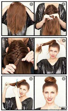 Hair Tutorial.  -girl hair styles