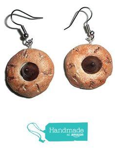 Chocolate Drop Cookie Polymer Clay Fake Food Earrings https://www.amazon.com/dp/B01N7B919J/ref=hnd_sw_r_pi_dp_otVoyb43ZWZ51 #handmadeatamazon