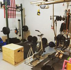 Garage Gym With Lynx Wall Mounted Rack, Submitted Via The Garage Gyms  Facebook