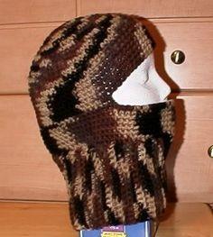 Ribbed Ski Hat - Free Crochet Pattern