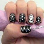 Lattice Nail Art | Source: Polishpedia
