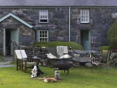 Rustic Farmhouse, Snowdonia National Park, Alpaca Pie: Remodelista