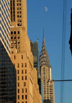 New York Print Chrysler Building Skyline by FineArtStreetPhotos