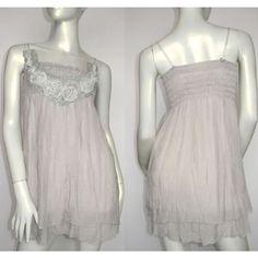 Womens Gray Grey Spaghetti Chiffon Summer Short Mini Party Dress Discount SKU-0040221