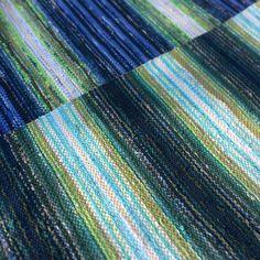 Rag Rugs, Tear, Recycled Fabric, Woven Rug, Carpets, Weaving, Blanket, Instagram, Rug Weaves