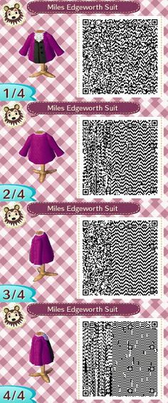 EUREKA! Everyone's favorite prosecutor's suit....Though, that frilly thingamabob, was annoying to get it wright(lol)  #acnl #animalcrossing #newleaf #nintendo #3DS