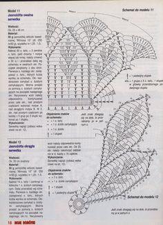 "alyona.merletto - on Yandex "" Moje robotki 2002-11 "" doily diagrams"