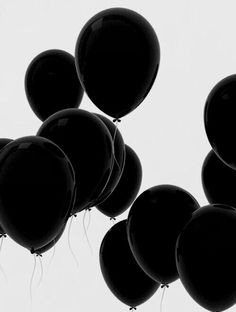 grunge birthdays be like tumblrgirl,  #balloon,  #vintage,  #california,  dark  #b&w