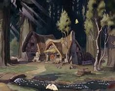 the sword in the stone disney cottages - Google Search