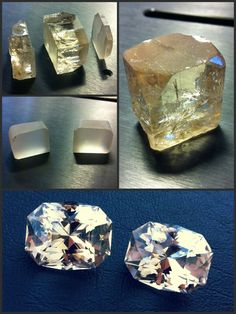 Pakistan Topaz Pair • 52.3 TCW (26.1ct & 26.2ct) • 19.34mm x 15.72mm    Beautiful, naturally colored pair of Topaz from crystal to gemstones.