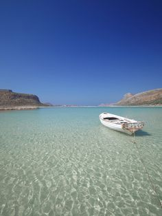 Balos Bay and Gramvousa, Chania, Crete.Greece,