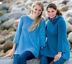 Strik selv: Smuk tunika med svaj - Hjemmet DK