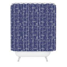 Recumbent #Shower #Curtain | @denydesigns #bath