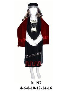 01197 – Vestimenta mapuche » Moldes para la confeccion