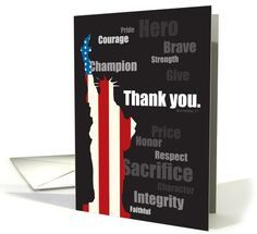 Veteran's day card from #greetingcarduniverse