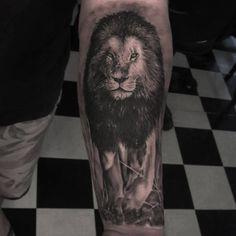 Lion Tattoo Leão Tatuagem Sleev Ink Inked Tattooed