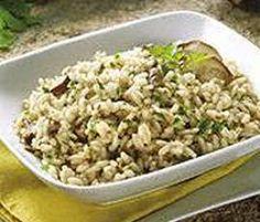 Receita Risotto com cogumelos por Equipa Bimby - Categoria da receita Pratos principais vegetariano