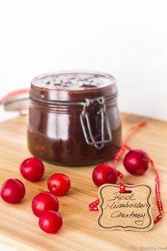 Red Mirabelles Chutney – Τσάτνεϊ από Κόκκινα Κορόμηλα - The Healthy Cook Cooking Recipes, Healthy Recipes, Organic Recipes, Chutney, Pickles, Yum Yum, Plum, Dips, Peach