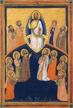 Pacino di Buonaguida -  Laudario della Compagnia di Sant'Agnese - 1320 - tempera e oro su pergamena - National Gallery of Art, Washington