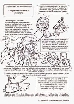 El Rincón de las Melli: La catequesis del Papa Francisco: La Iglesia es un...