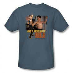 Star Trek Don't Mess With Sulu T-Shirt | Star Trek Shop