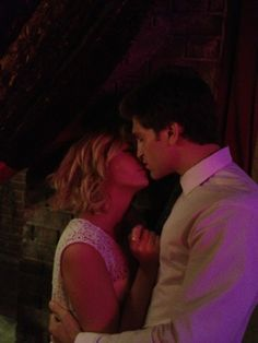 Are emily and ezra hookup in real life