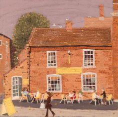 Busy café, Long Melford - Lucy Grossmith