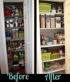 Pantry re-do from @Amy {All In A Day}