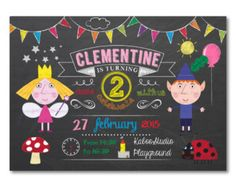 Ben and Holly Little Kingdom Printable Party by Invitingbyrenee