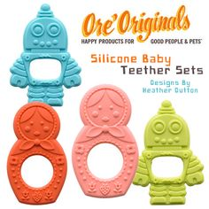 Baby Teether Sets | Heather Dutton For Oré Originals