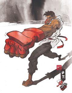 Sean Don - Street Fighter - Ronald Wimberly