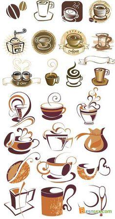 Stock vector - Logo coffee
