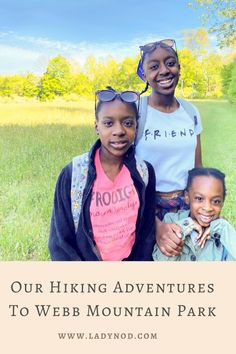 A few weekends ago we went hiking on #WebbMountain Trail which is a moderately trafficked loop trail that features a great forest setting and a fun nature scavenger hunt so expect a lot of stops if you go with kids to view frogs, plants, the usual rare rocks my girls have been collecting since they could walk 😂 and what we discovered is that this trail is good for all skill levels, even though Babygirl didn't get the memo and Hubby wouldn't have her any other way than on his shoulders…