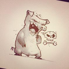 Pig concept. #character #design #characterdesign #conceptart #hallmark…