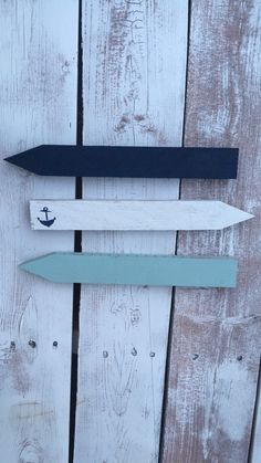 Blue and white anchor arrows by TheBarnFarmGals on Etsy https://www.etsy.com/listing/287071109/blue-and-white-anchor-arrows
