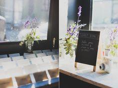 modern wedding ideas - photo by Chaz Cruz http://ruffledblog.com/modern-brooklyn-wedding