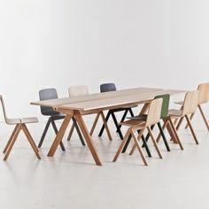 Copenhague chairs by Hay. Design by Ronan & Erwan Bouroullec.