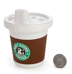 Starbucks baby sippy cup
