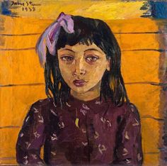 Painted in Malay Girl contains all the elements of Irma Stern's finest works and is one her most compelling portraits providing extraordinary insights into the curious life of a child. (Picture: Strauss & Co. Harlem Renaissance, Most Expensive Painting, African Paintings, Art Deco, South African Artists, Portraits, Portrait Paintings, Portrait Art, Wow Art