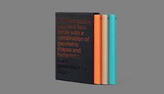 geomanist booklet on Behance