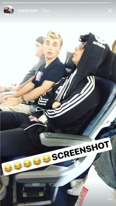 There are three types of people on a plane