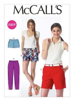 M6930 | McCall's Patterns - Shorts #clothestomake