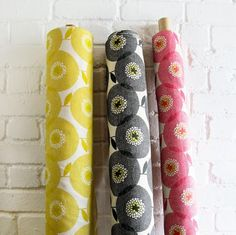 Skinny laMinx fabric is available in yardage, and retails for $65.00 per metre (which works out at about $59.40 a yard). This vintage-inspired