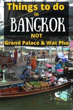 Things to do in Bangkok Thailand - Pin