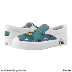 Witch for child Slip-On sneakers - Canvas-Top Rubber-Sole Athletic Shoes By Talented Fashion And Graphic Designers - #shoes #sneakers #footwear #mensfashion #apparel #shopping #bargain #sale #outfit #stylish #cool #graphicdesign #trendy #fashion #design #fashiondesign #designer #fashiondesigner #style
