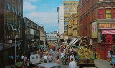 Surrey Street Croydon Surrey England in 1970